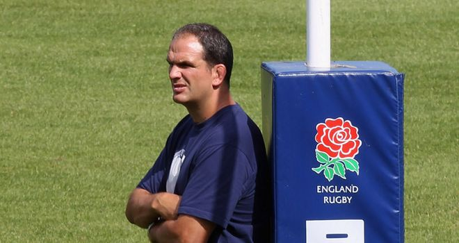 Martin Johnson: must concentrate on England's strengths