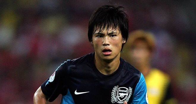 Miyaichi: Given the green light to begin his Arsenal career in earnest