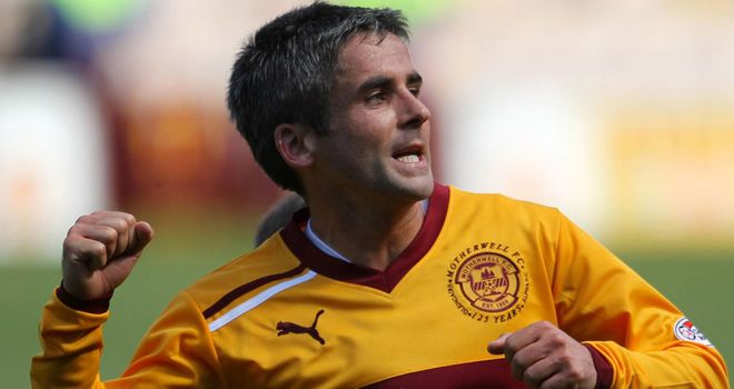 Keith Lasley: Midfielder enjoying Motherwell's success without scrutiny.