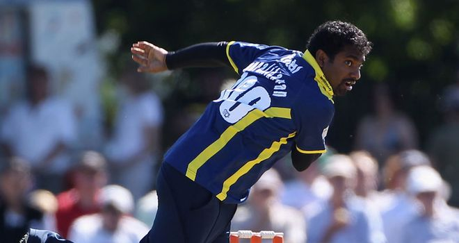 Muttiah Muralitharan: Returning to Gloucestershire for Twenty20 Cup