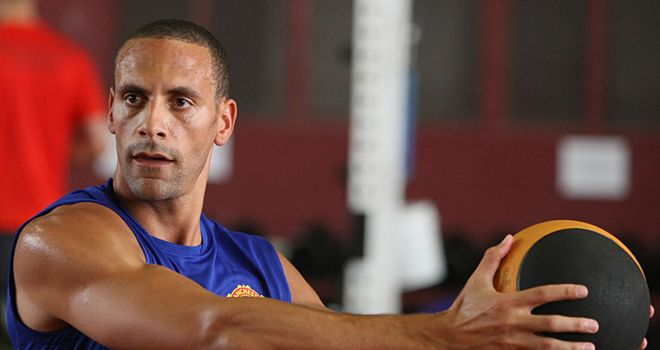 Ferdinand: Working on fitness