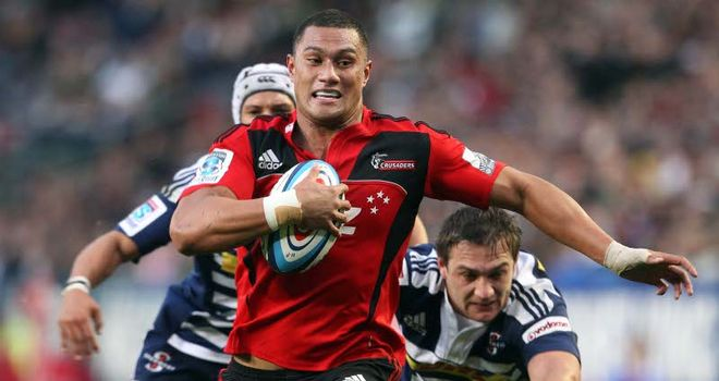 Fruean: Scored second try for Crusaders
