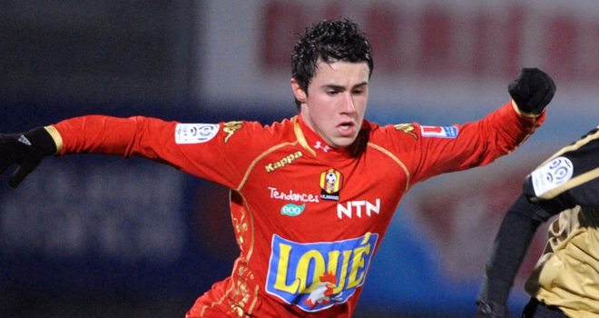 Corchia: One of the brightest prospects in French football