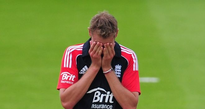 Broad: left out for the series decider at Old Trafford