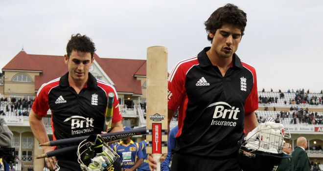 Kieswetter & Cook: Record partnership at Trent Bridge