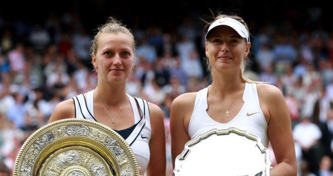 Kvitova and Sharapova: last year's SW19 finalists will be strong again, says Barry
