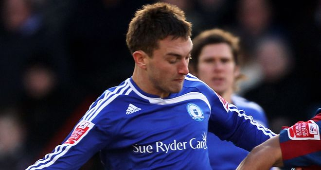 Lee Frecklington: Peterborough midfielder has signed a new two-year contract at London Road
