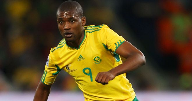 Mphela: Looking to earn a contract at Parkhead