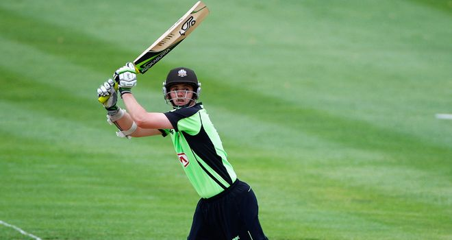 Steven Davies: scored 99no for Surrey against Sussex in 2011