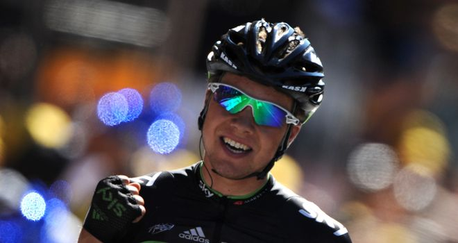 Boasson Hagen: Another brilliant display saw him emerge victorious in Pinerolo