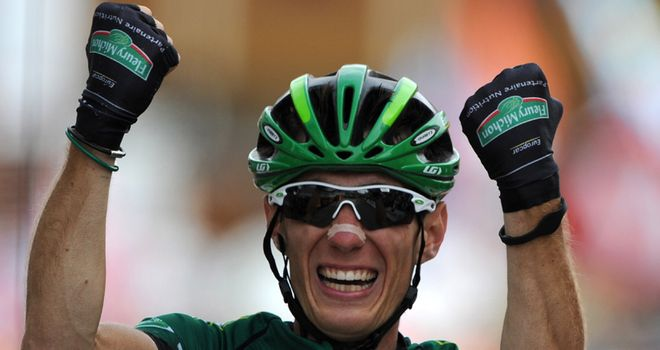 Rolland: Rode a clever race and timed his attack to take victory on the famous climb