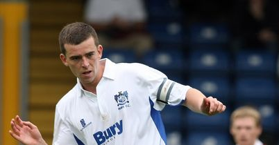 Steven Schumacher: Late equaliser for Bury