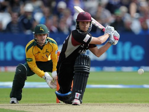 James Hildreth: Helped Somerset to victory