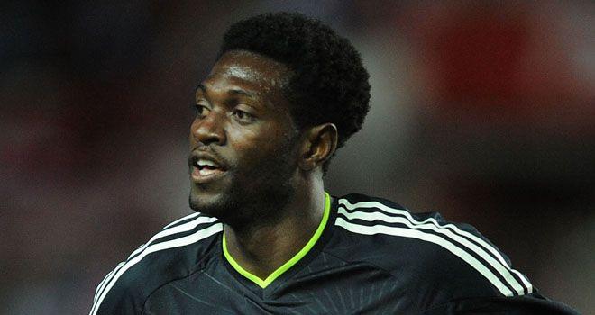 Adebayor: Looking to enjoy himself at White Hart Lane