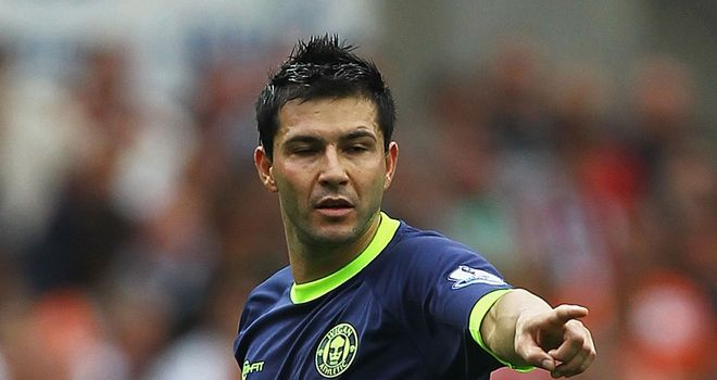 Antolin Alcaraz: Apologises after spit intended for the ground struck Wolves' Richard Stearman