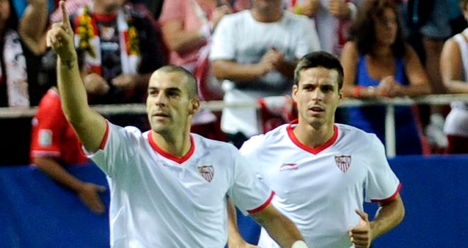 Negredo: Sharp shooter for Sevilla