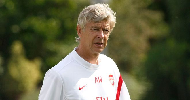 Wenger: Gunners boss has ruled out Jadson and Tevez deals