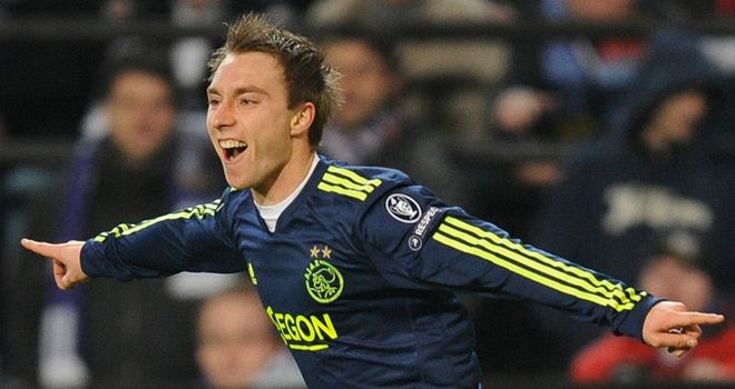 Eriksen: Targeting improvement at Ajax this season