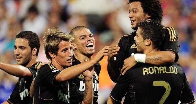 Ronaldo: Already amongst the goals