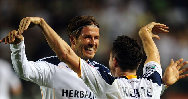Robbie Keane: Hoping David Beckham decides to extend his Los Angeles Galaxy contract by another year