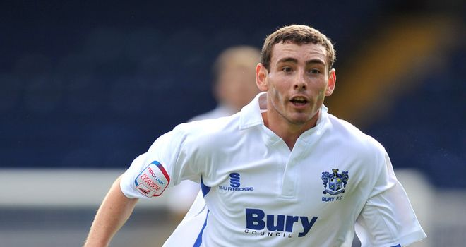 David Worrall: Opened the scoring for Bury