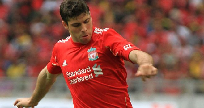 Insua: Has ended his time at Liverpool by joining Sporting Lisbon on a five-year contract