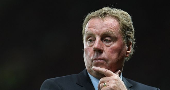Redknapp: Faces selection dilemma ahead of Tottenham's Europa League game