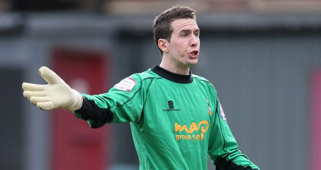 Jon McLaughlin: Had a busy night in goal