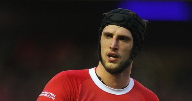 Charteris: Hopes to gain a spot in the starting XV