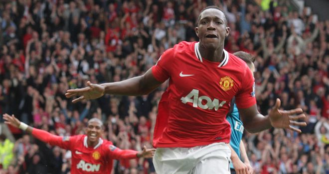 Danny Welbeck: In contention to start Manchester United's Champions League tie against Basel