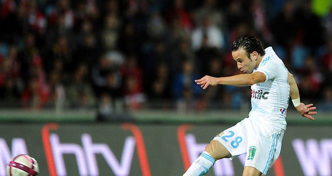 Mathieu Valbuena: Has suffered a dip in form but will not be offloaded by Marseille