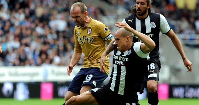 Obertan: Is performing well for Newcastle in the early stages of the season