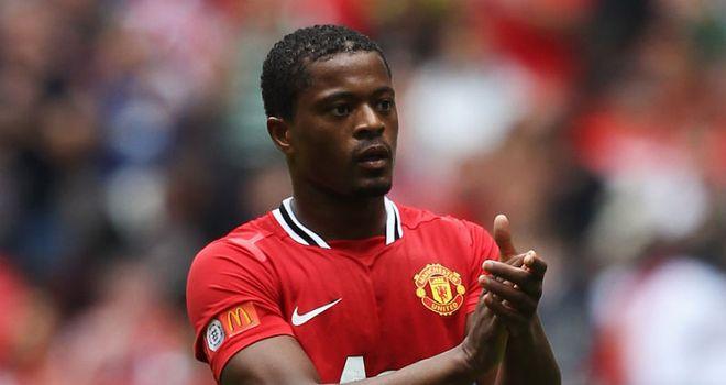 Patrice Evra: Defender believes his experience is invaluable in setting an example to the United youth
