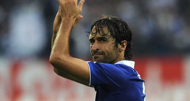Raul: Is set to enter talks with Schalke over extending his stay at the German club