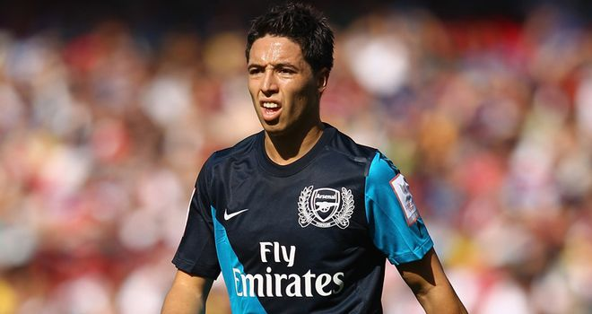 Nasri: Unhappy with fans' chants at Newcastle on Saturday