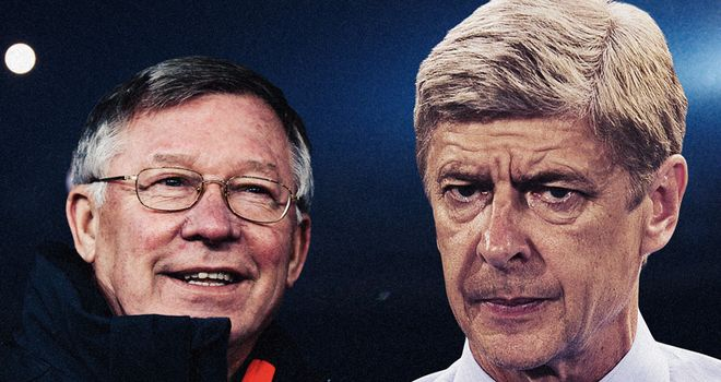 Ferguson & Wenger: their teams have been scoring goals for fun of late