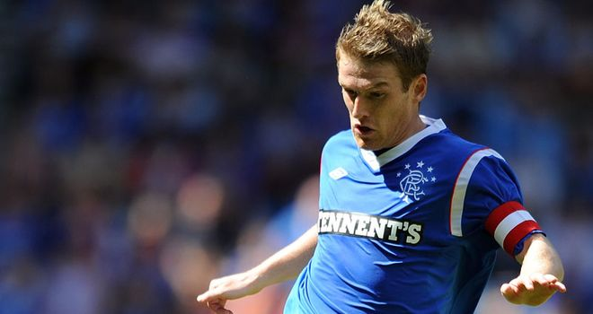 Steven Davis: Knows Rangers cannot afford to let their standards slip despite big lead in table