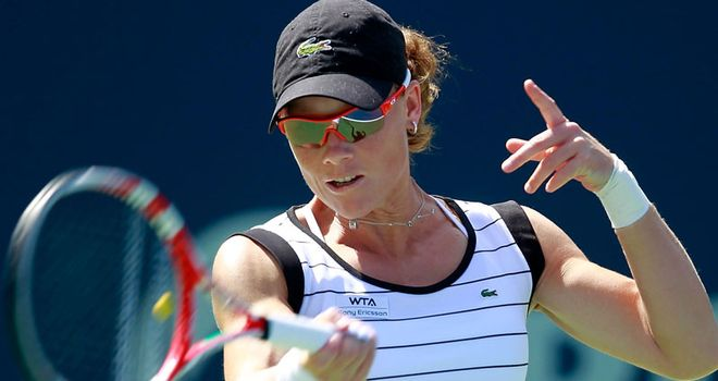 Sam Stosur: Home hope