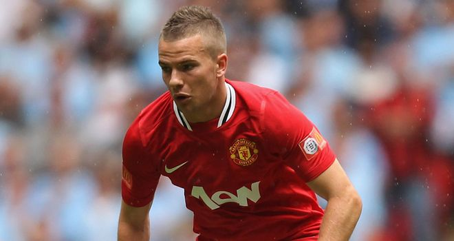 Cleverley: United youngster has made the step up to the England squad this season