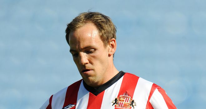 David Vaughan: Sunderland midfielder has been linked with a loan move back to Blackpool