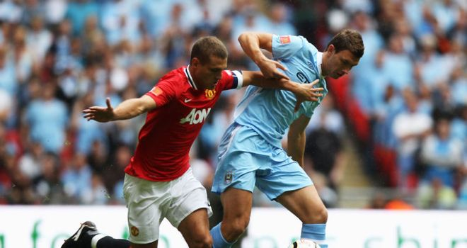 Vidic: United captain is set to return to fitness after the international break