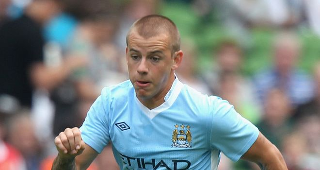 Vladimir Weiss: The Manchester City winger scored twice on his season long loan for Espanyol last season