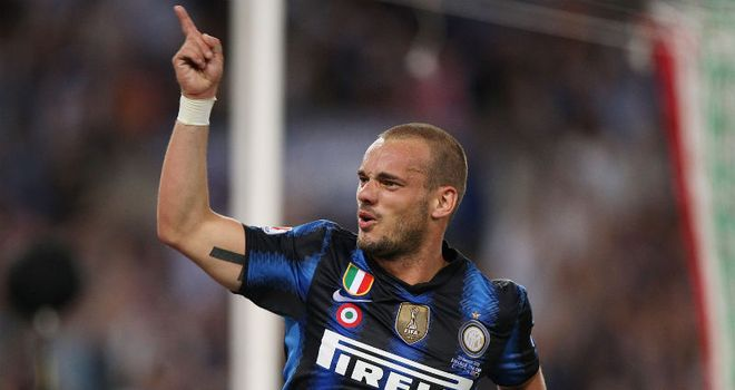 Sneijder: Reports of City's interest are not true, according to Mancini
