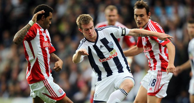 Stoke: Grabbed a last-minute winner to deny West Brom their first point