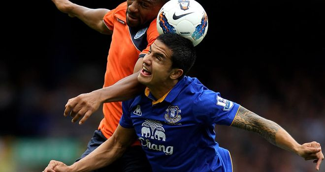 Cahill: Has called on the fans to get behind Everton during a difficult period for the club