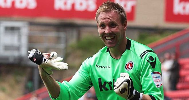Elliot: The Charlton goalkeeper is in the final year of his contract