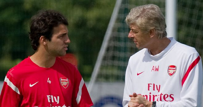 Cesc: Owes so much to Wenger