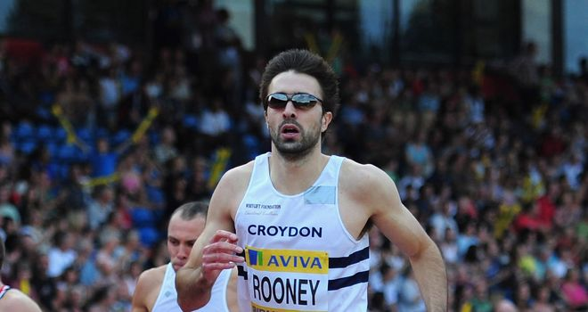 Martyn Rooney: Second place in Madrid