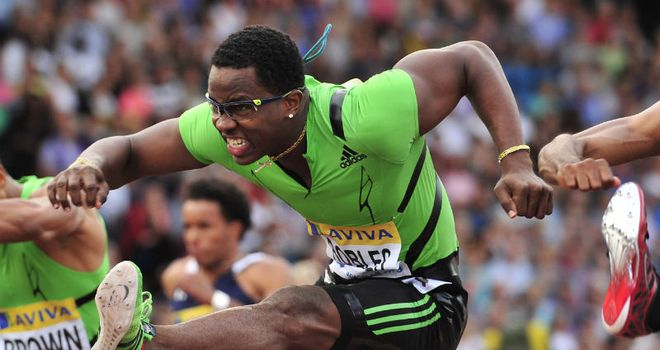 Dayron Robles: Unable to defend world indoor title