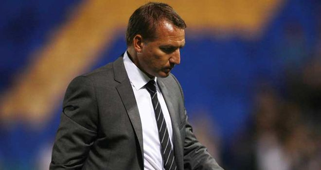 Rodgers: Missed the 1-0 defeat to Arsenal following the death of his father